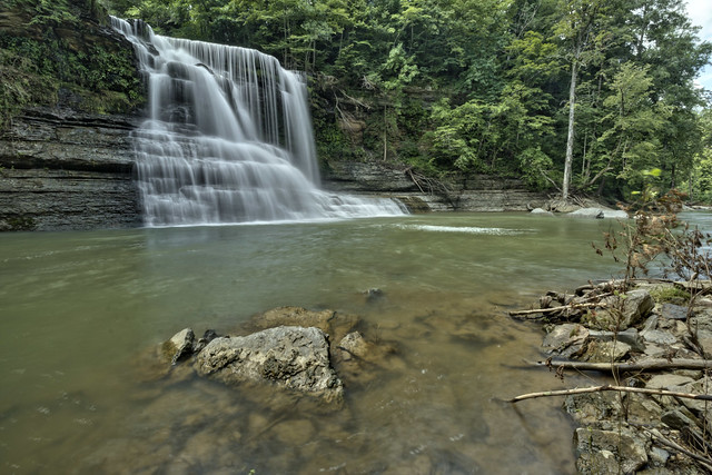 Mill Creek Falls, Spring Creek, Overton County, Tennessee 5