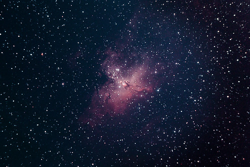 M16 Eagle Nebula + Pillars of Creation | by [fluxa]