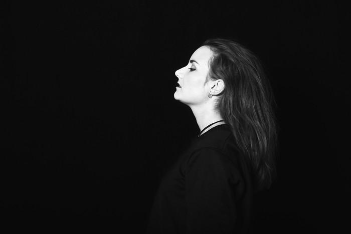 Studioportrait, Nina