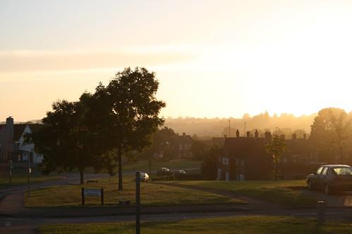 uk mist sunrise dawn essex braintree canoneos400d peterborsey pborsey