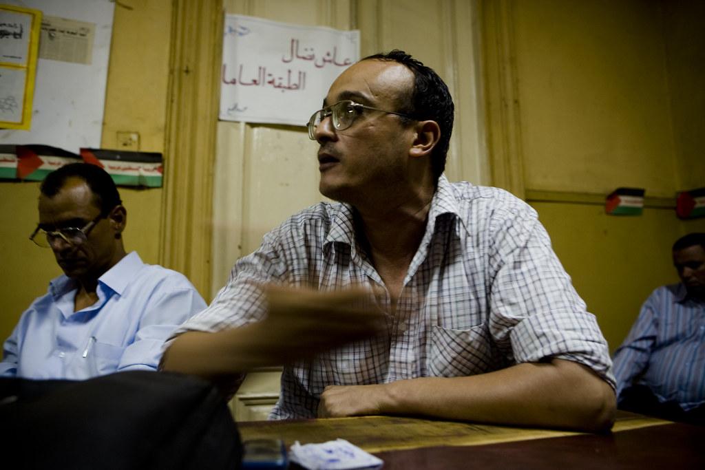 Labor journalist Hisham Fouad