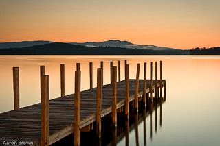 Weirs Beach Dock at Sunrise | by AaronBBrown