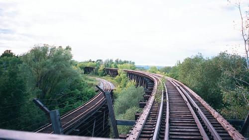 street railroad usa heritage tracks bridges trains ashland lakesuperior smalltown oredock trestles wsiconsin ashlandcounty