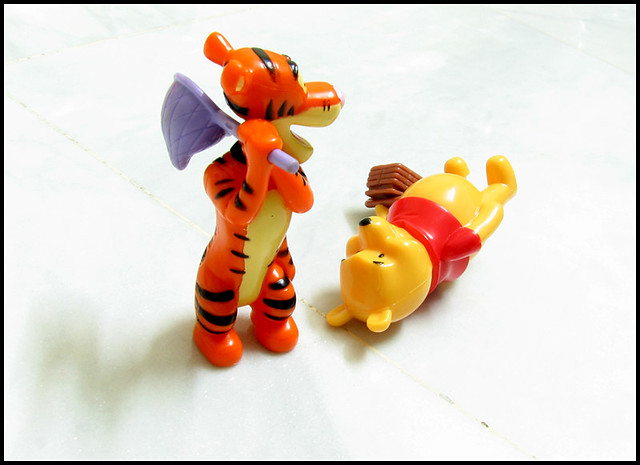 Butt Kick The Good Tigger Kicks Evil Poohs Ass With His Flickr
