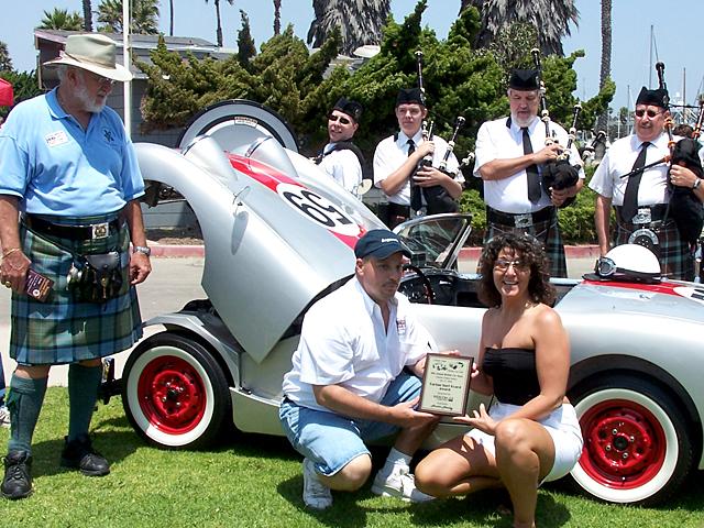 Tartan Surfboard Award winner