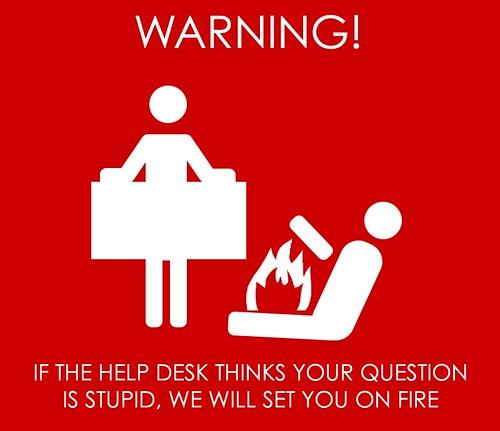If the Help Desk Thinks... | by jameskm03
