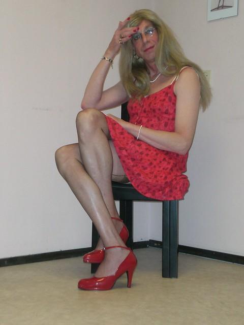 Little red dress, again