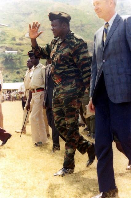 Idi Amin in Kilembe | Limey2007 | Flickr