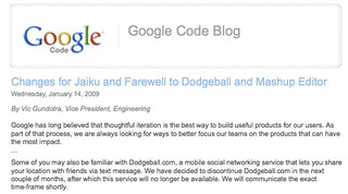 So Google's finally gonna kill dodgeball, eh? | by dpstyles™