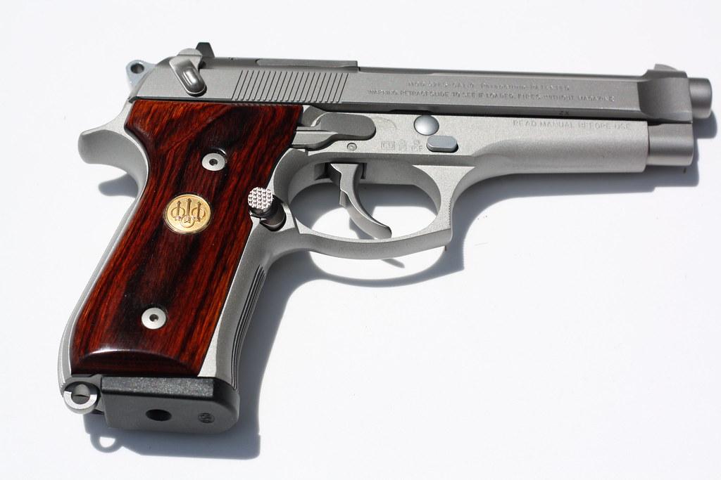 Beretta 92FS INOX 9mm With Rosewood Grips | BerettaFS Inox G