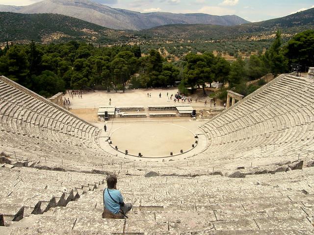 AmphiTheatre In Greece