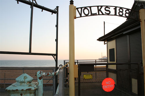 Entrance to Volks Railway Platform, Brighton | by moluki