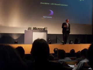 Microsoft Keynote in Louvain | by Choubistar