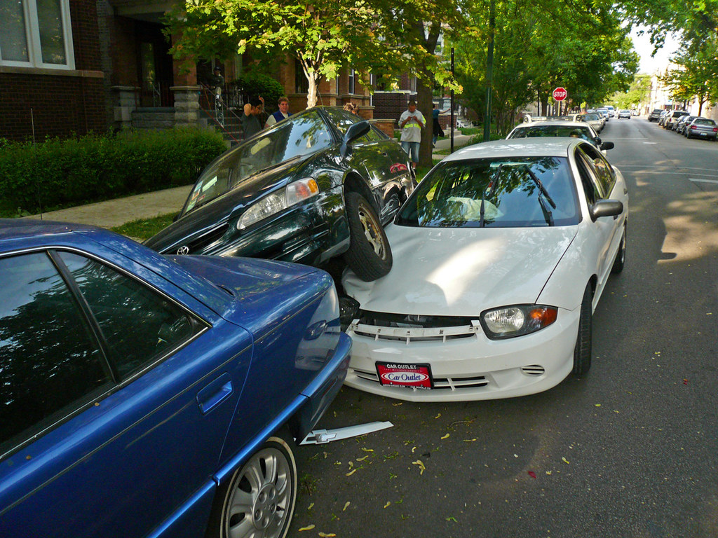 Double parking, Chicago style