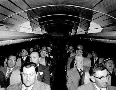 Bus passengers, 1952 | by Seattle Municipal Archives