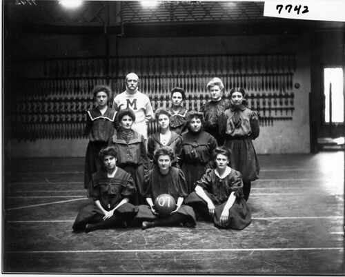 Miami women's basketball team 1907 | by Miami U. Libraries - Digital Collections