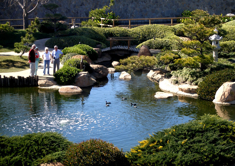 Japanese Garden Visitors