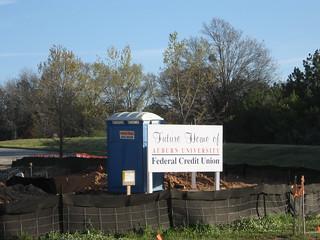 Auburn University Credit Union >> Future Home Of Auburn University Federal Credit Union Flickr