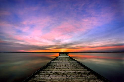 sunset ontario clouds lightroom sigma1020mm rondeauprovincialpark southwestontario bobwest k10d rondeaubay
