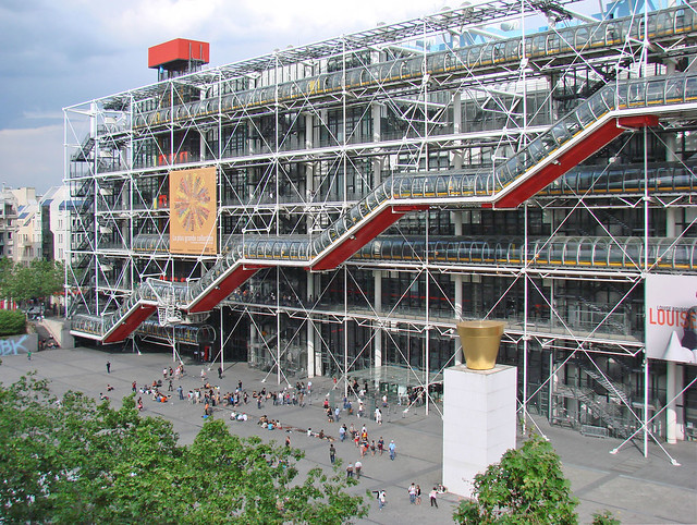 Le Centre Georges Pompidou (Paris)