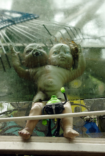 H.R. Geiger's Baby, Cathedral of Junk, Austin, TX