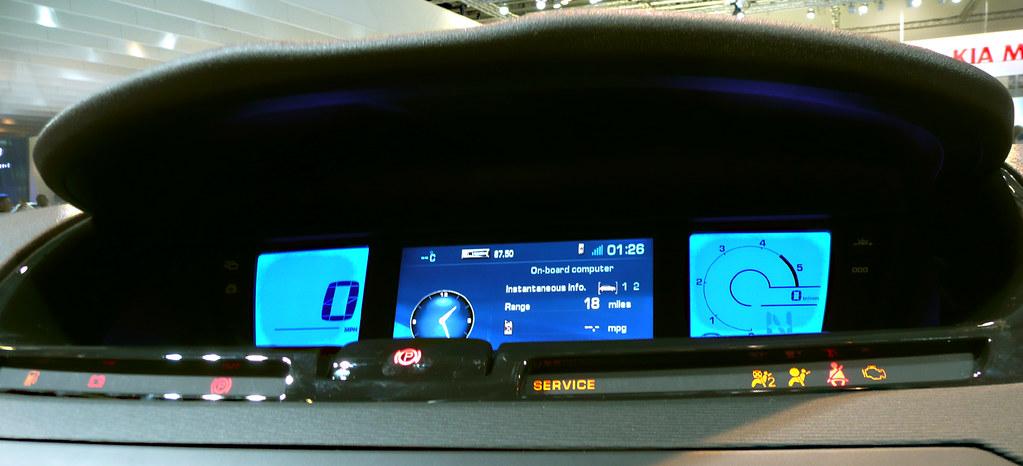 Citroen C4 Grand Picasso Dash | Citroen C4 Grand Picasso - D