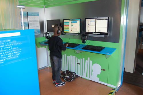 At the computer stations - Genesee District Library - Digital Bookmobile | by digitalbookmobile