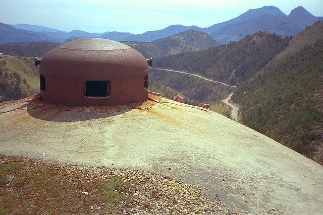 Fort Col De Brouis Maginot Line Alps