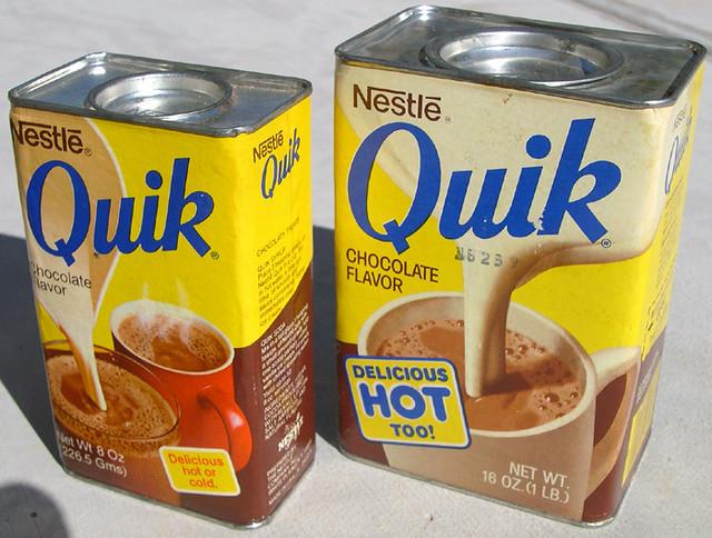 Nestle Quik, 1970's
