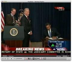 Obama is left-handed   by scriptingnews