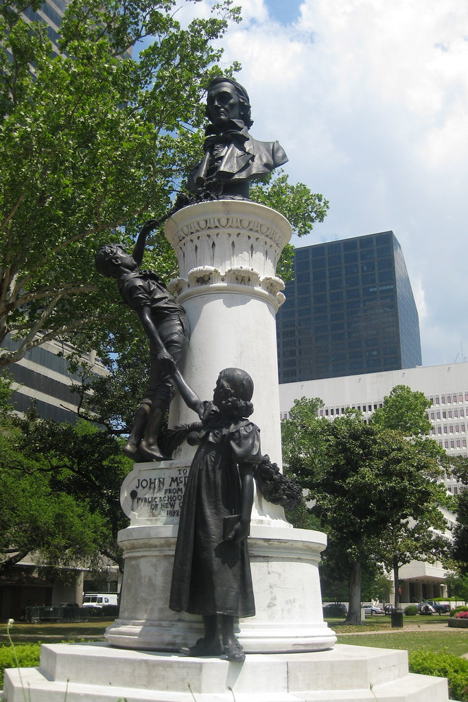 City Of Lafayette >> New Orleans - CBD: Lafayette Square - McDonogh Monument | Flickr