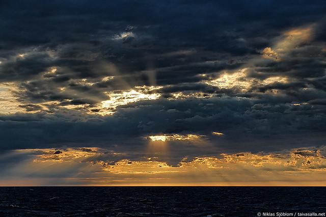 Morning sky at Märket
