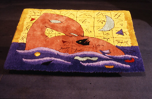 Dear Time   Rug for a childrens room 1984