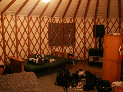 Inside the Yurt | by Bruno's Flickr