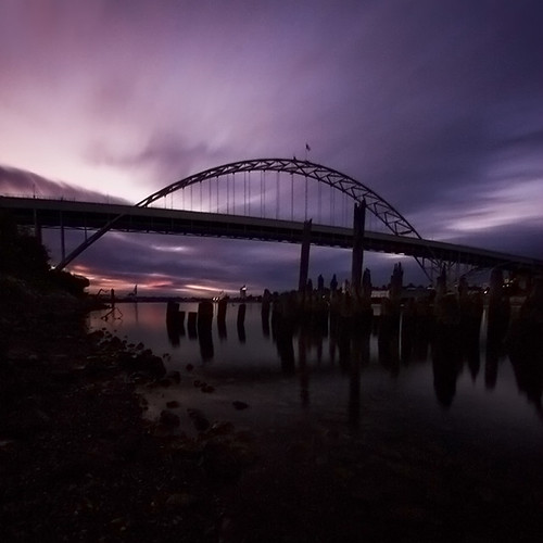 city longexposure bridge sunset oregon square portland fremont pilings canon1022mm nd400 reallylongexposure