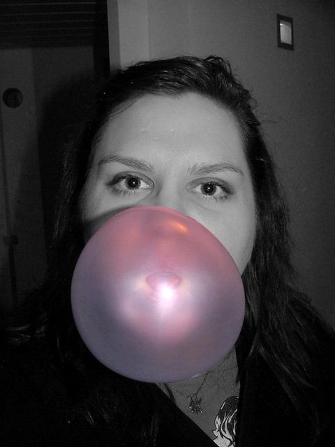 40/365 - Living in a pink bubble?