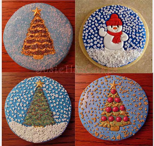 Snowglobe Christmas Cookie Gifts These Were Fun I Love Pa Flickr