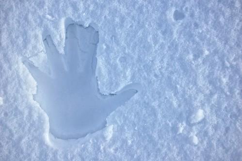My left hand   by adesarmiento