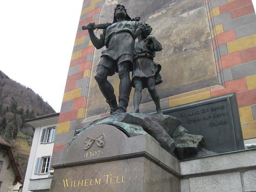 Altdorf - Uri - Wilhelm Tell   by TinoZH