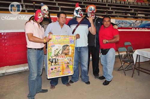 """DSC_0115 Conferencia de Prensa Lucha Libre AAA """"Factor X y Psycho Circus"""" por LAE Manuel Vela"""