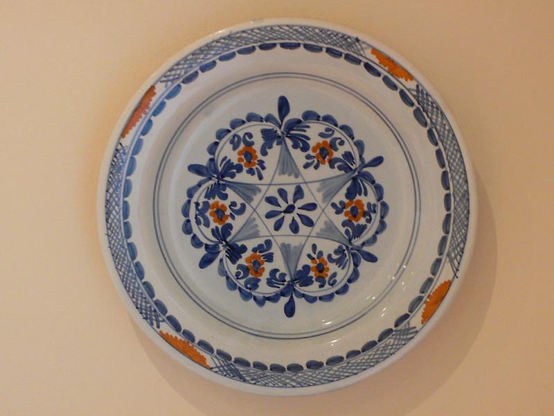 Plate bought in Zakynthos, Greece