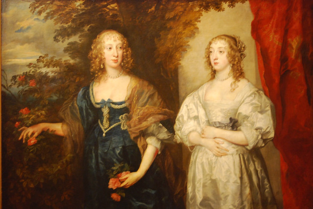 Portrait of Lady D'Aubigny and the Countess of Portland