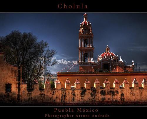 Cholula Towm, Puebla MEXICO 2
