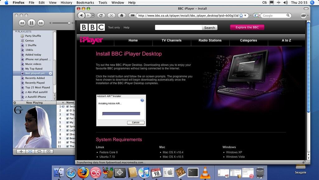 BBC iPlayer Desktop on the Apple Mac | Relatively painless i