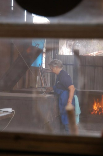 ABBQ #47/Dignity Hunt #XX: Pitmaster Tootsie Tomanetz, Snow's Lexington, Tex. | by Rob Bellinger