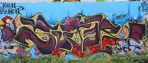 Graffiti in Köln/Cologne 2005