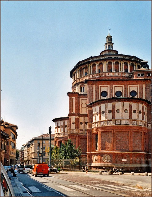 Milan : Chiesa Santa Maria delle Grazie   -  EXPLORE