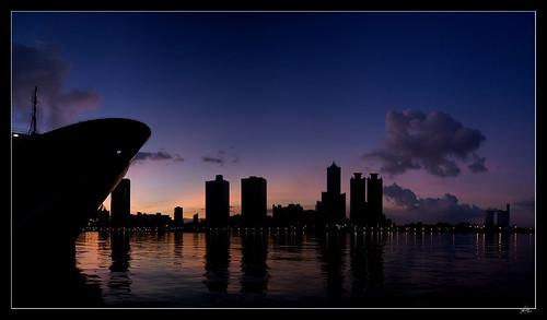 sunrise kaohsiung 高雄 日出 85大樓 接圖 真愛碼頭 港口