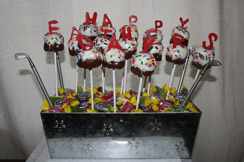Happy Father's Day cupcake pops | by Mike_n_Kat