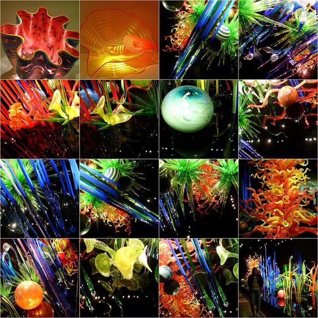 Chihuly Glass Mosaic